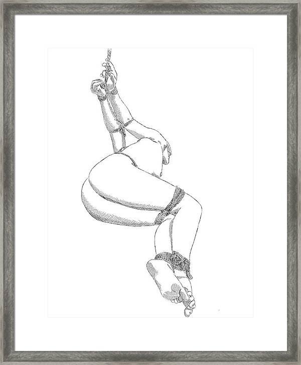 Line art bondage