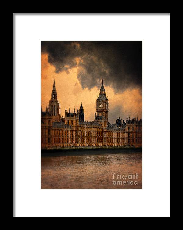 Big Ben Framed Print featuring the photograph Big Ben by Jill Battaglia