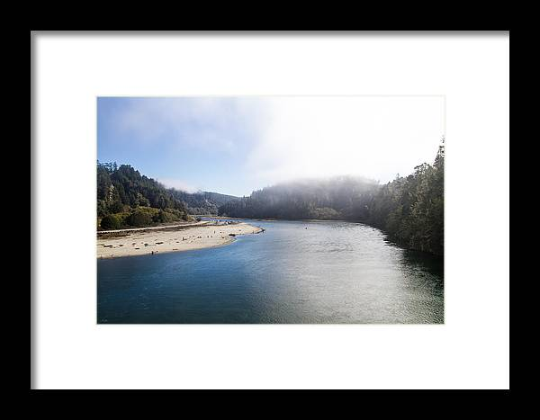 Doves Framed Print featuring the photograph Big River by Brian Williamson