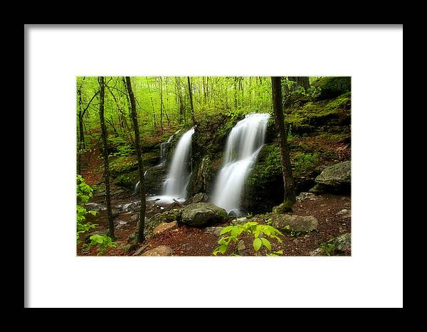 Waterfall Framed Print featuring the photograph Blackledge Falls by Andrea Galiffi