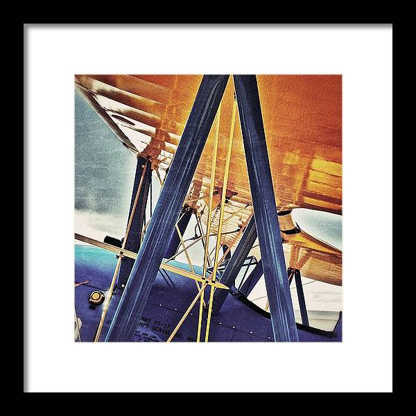 Aircraft Framed Print featuring the photograph Blue Bird by AK Photography