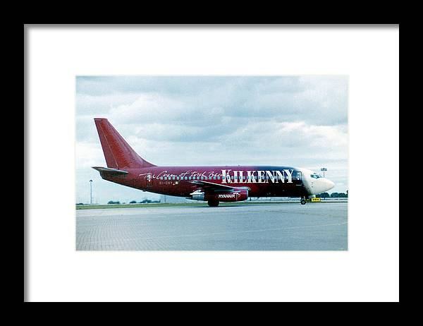 Boeing Framed Print featuring the photograph Boeing B737-200 by Ted Denyer