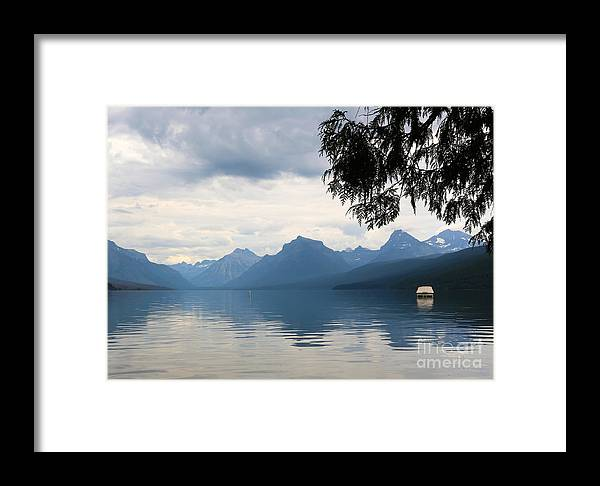 Glacier National Park Framed Print featuring the photograph Calm Before The Storm by Carol Groenen