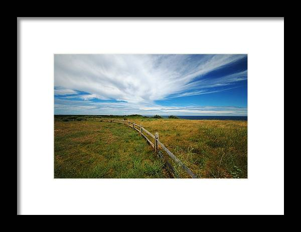 Cape Cod Framed Print featuring the photograph Cape Cod Vista by Lisa Kane