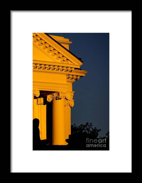 Richmond Framed Print featuring the photograph Capital Gold by Debra K Roberts