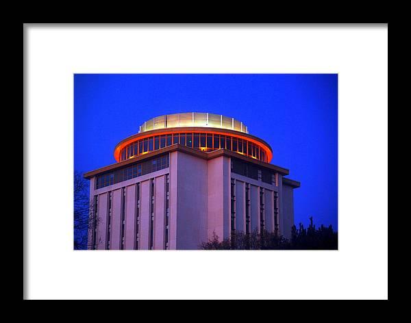 Capstone Framed Print featuring the photograph Capstone Hall University Of South Carolina by William Copeland