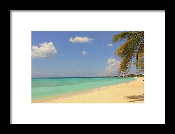 Scenics Framed Print featuring the photograph Caribbean Dream Beach by Shunyufan