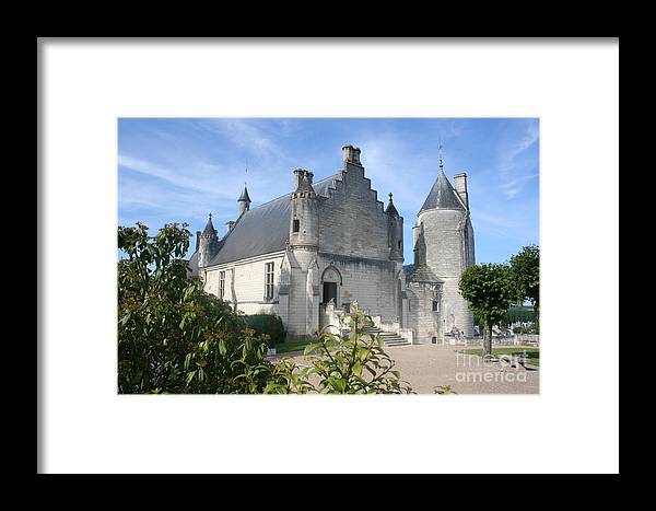 Castle Framed Print featuring the photograph Castle Loches - France by Christiane Schulze Art And Photography