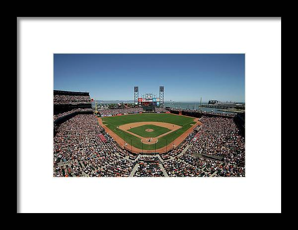 San Francisco Framed Print featuring the photograph Chicago Cubs V San Francisco Giants by Ezra Shaw