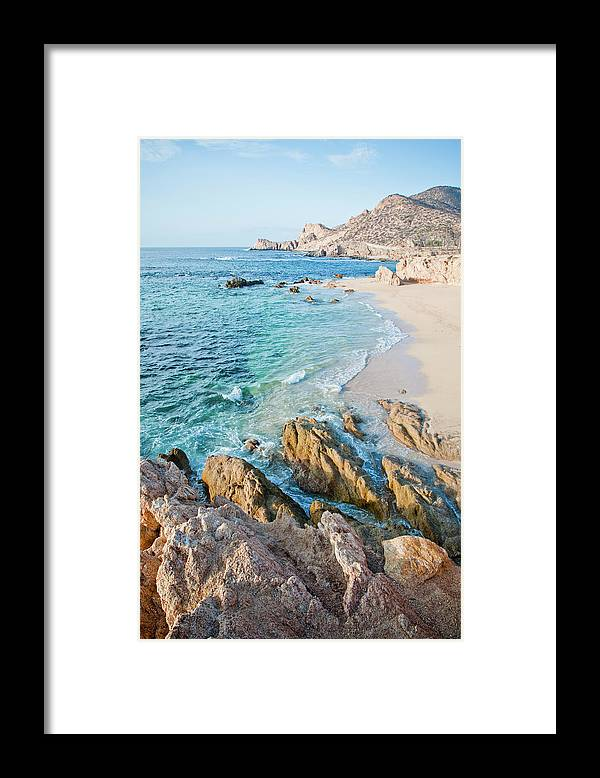 Water's Edge Framed Print featuring the photograph Chilino Bay by Christopher Kimmel