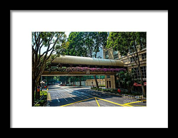 Photo Street Framed Print featuring the photograph City by Arik S Mintorogo