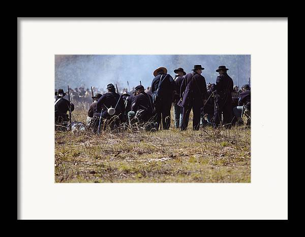 Civil Framed Print featuring the photograph Civil War by Kitty Ellis