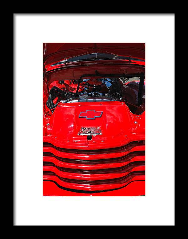 Classic Framed Print featuring the photograph Classic Truck. by Oscar Williams