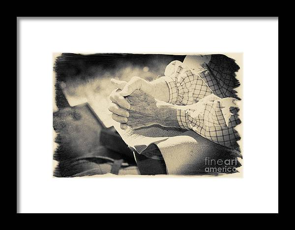 Black And White Image Framed Print featuring the photograph Colonial Shoemaker by Jan Tyler