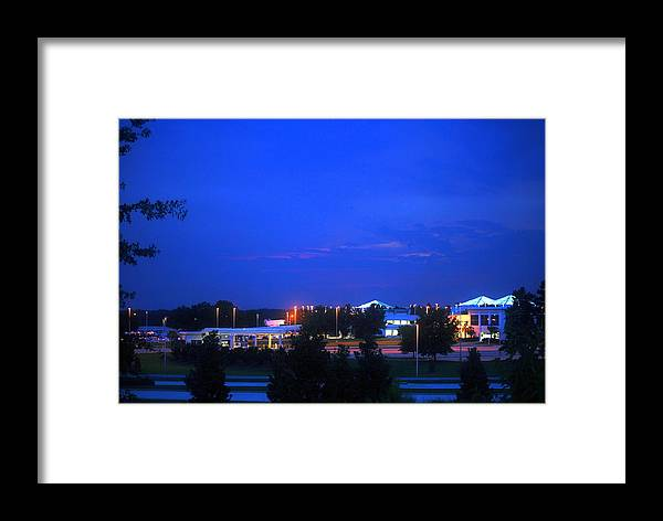 Airport Framed Print featuring the photograph Columbia Airport by William Copeland