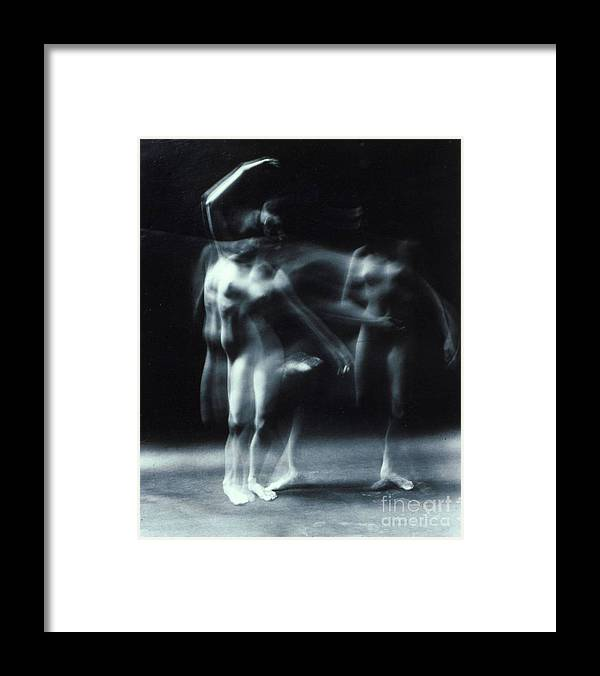 Nude Framed Print featuring the photograph Nude Dance by Randy Sprout