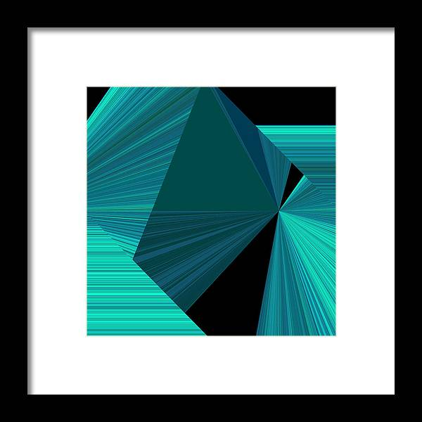 Design Framed Print featuring the photograph Design Square 32 by Joe Connors