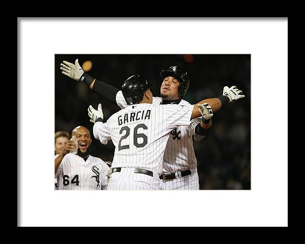 People Framed Print featuring the photograph Detroit Tigers V Chicago White Sox by Jonathan Daniel