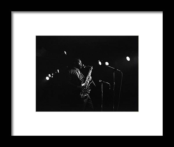 Jazz Framed Print featuring the photograph Dewey Redman by Lee Santa