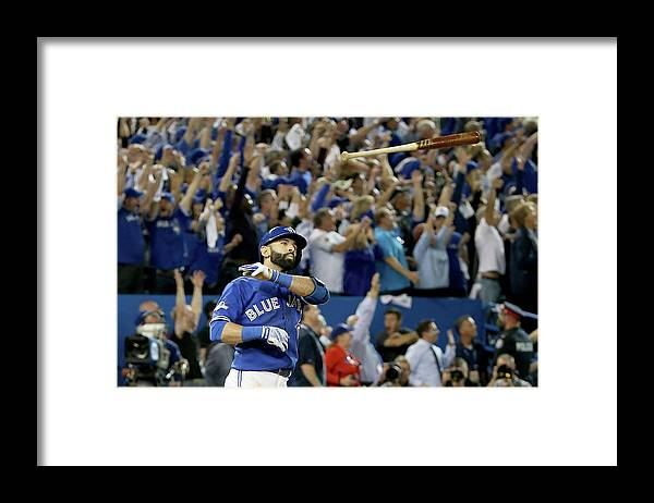People Framed Print featuring the photograph Division Series - Texas Rangers V by Tom Szczerbowski