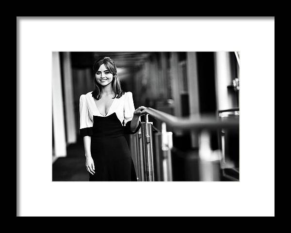 People Framed Print featuring the photograph Doctor Who - London Premiere by Chris Jackson