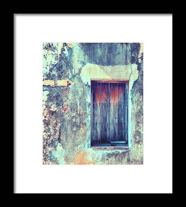 City Scapes Framed Print featuring the photograph Door To Nowhere by Charles Tisdale