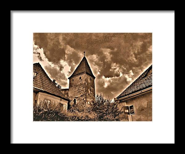 Photography Framed Print featuring the photograph Dracula's City by ITI Ion Vincent Danu