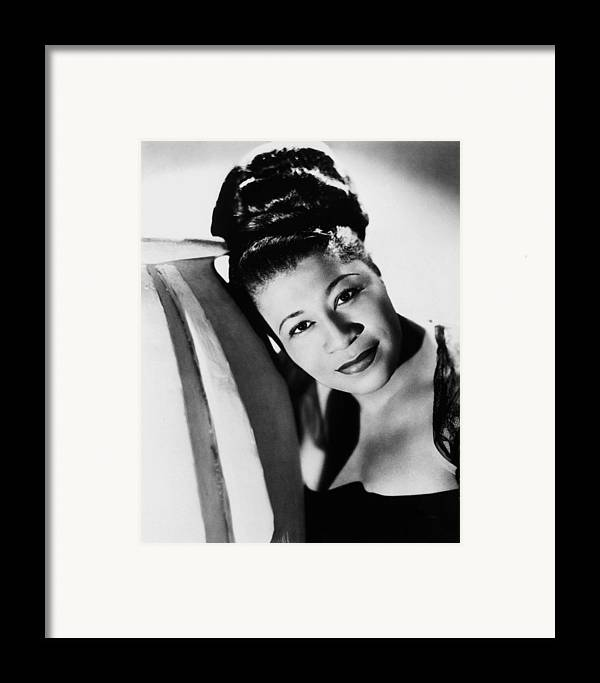1940 Framed Print featuring the photograph Ella Fitzgerald (1917-1996) by Granger