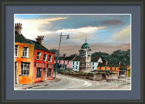 Enniskerry Village Wicklow by Val Byrne