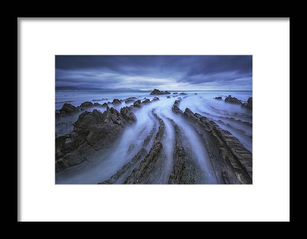 Barrika Framed Print featuring the photograph Eternal Lines by Carlos F. Turienzo