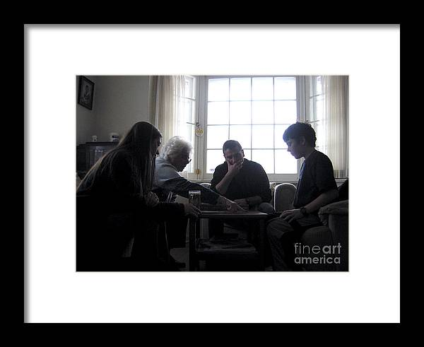 Indoor Framed Print featuring the photograph Family by Andre Paquin