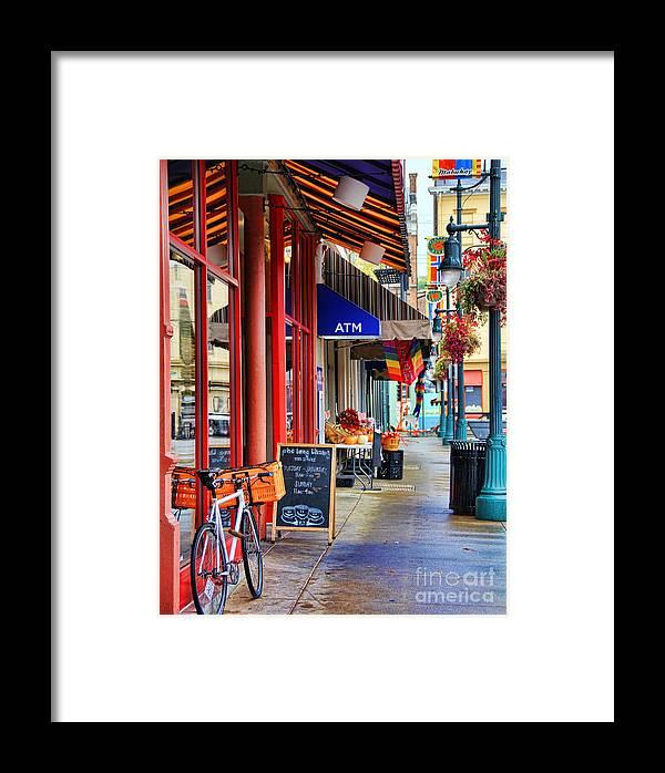 Findlay Market Framed Print featuring the photograph Findlay Market In Cincinnati 0006 by Jack Schultz