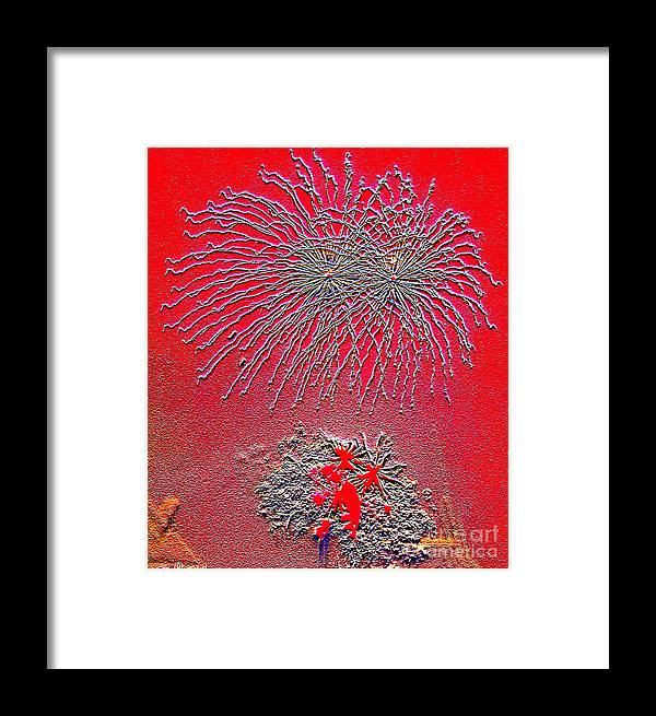 Yacht Framed Print featuring the photograph Flare 1 by Geoff Childs
