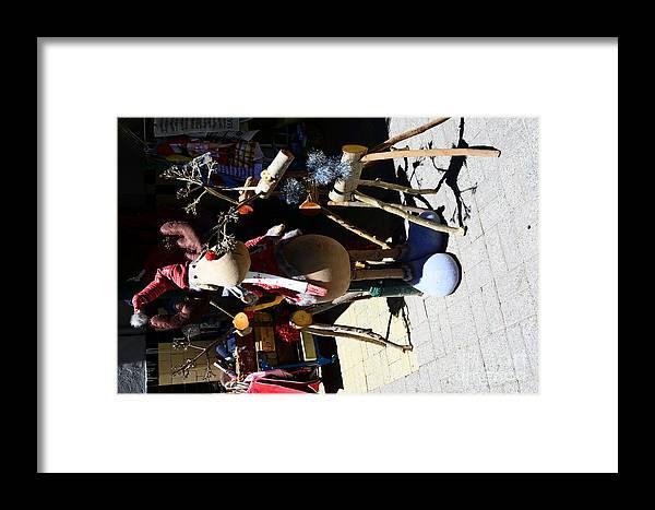 Tags+ Add Tagnikond7100waperthfremantledarkteesgooglesstreetxphotographyfacessilverchainbold Framed Print featuring the digital art Fremantle Market by Bobby Mandal