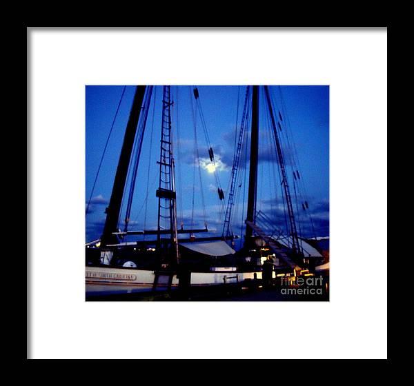 Full Moon Framed Print featuring the photograph Full Moon by Alex Rahav