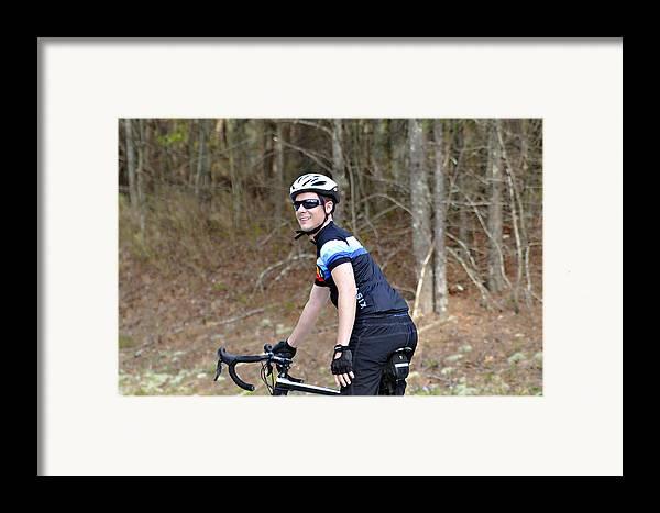 Sport Framed Print featuring the photograph Gran Fondo by Susan Leggett