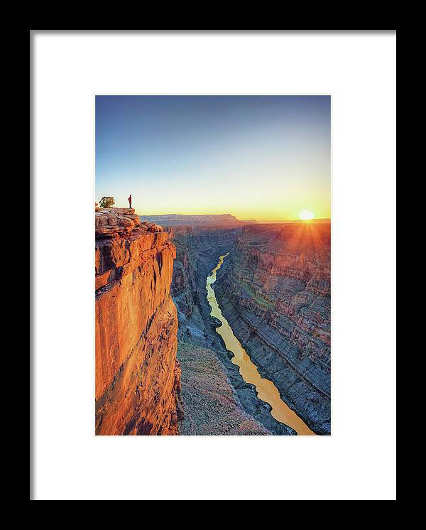 Scenics Framed Print featuring the photograph Grand Canyon, Toroweap Lookout by Michele Falzone