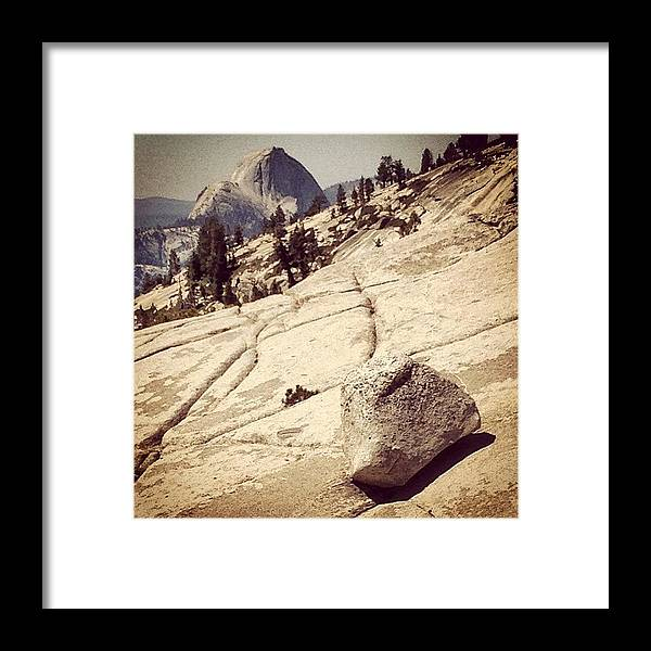 Beautiful Framed Print featuring the photograph Half Dome by Jill Battaglia