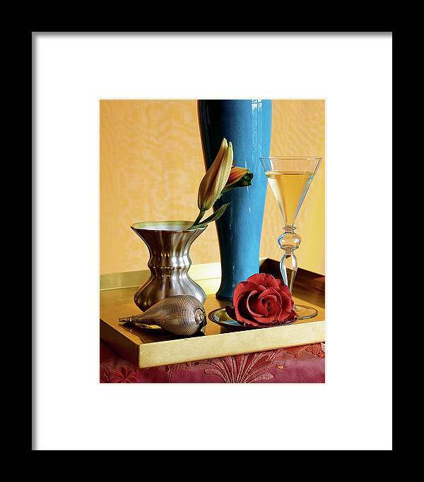 Home Accessories Framed Print featuring the photograph Home Accessories by Beatriz Da Costa