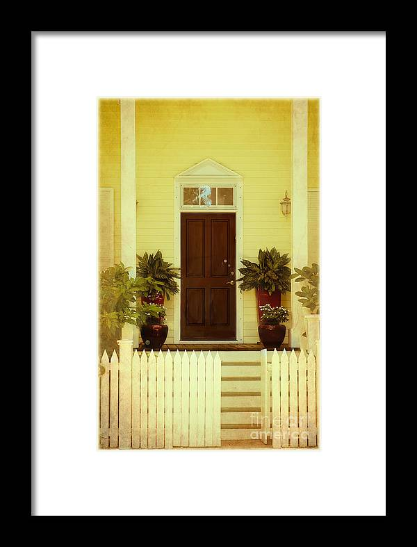 Home Framed Print featuring the photograph Home Sweet Home by Sophie Vigneault
