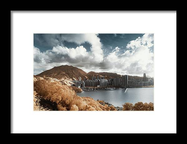 Tranquility Framed Print featuring the photograph Hong Kong by D3sign