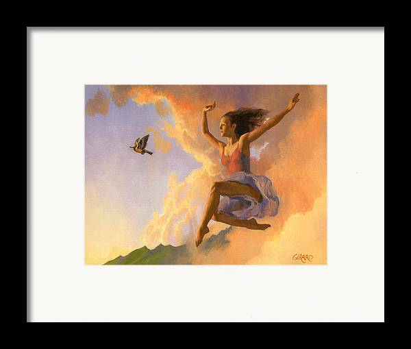 Dance Framed Print featuring the painting Inspiration by Francois Girard