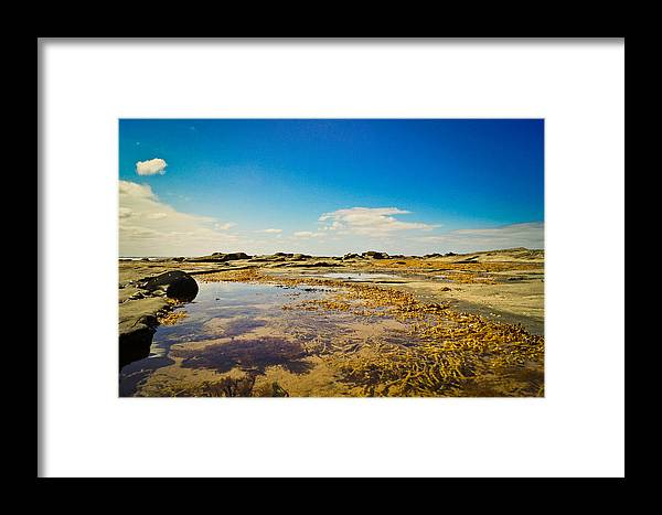Nature Framed Print featuring the photograph Inverloch Beach by Carley Payne