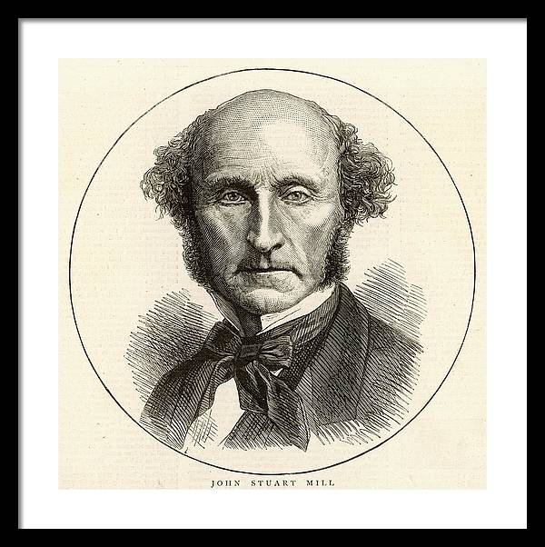 John Stuart Mill  Philosopher by Mary Evans Picture Library