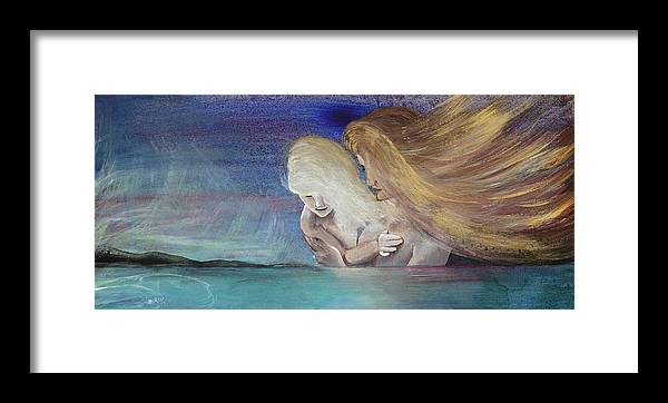 Juno Framed Print featuring the painting Juno by Stacey Austin