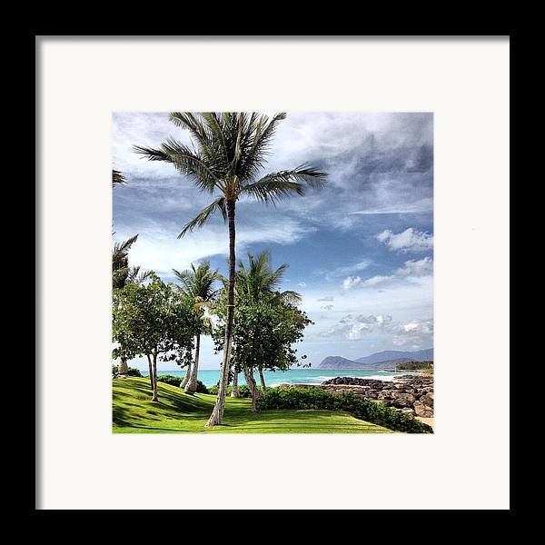 Ko Olina Lagoon Framed Print featuring the photograph Ko Olina Lagoon by Gary Smith