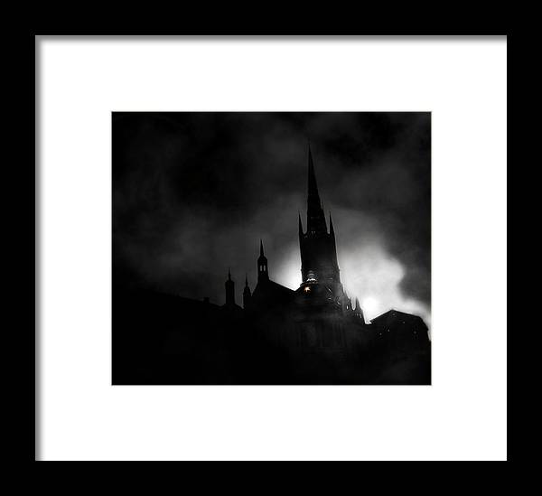 Photography Framed Print featuring the photograph Kyrka by David Fox