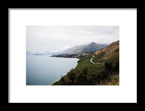 Tranquility Framed Print featuring the photograph Lake Wakatipu by Claire Takacs