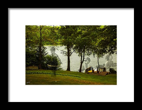 Lake Framed Print featuring the photograph Lakeside Dreams by Madeline Ellis