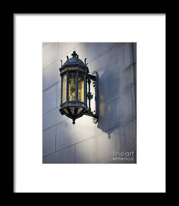 Lantern Framed Print featuring the photograph Lantern by Chris Dutton